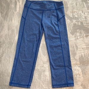 Aeropostale Blue Cropped Leggings